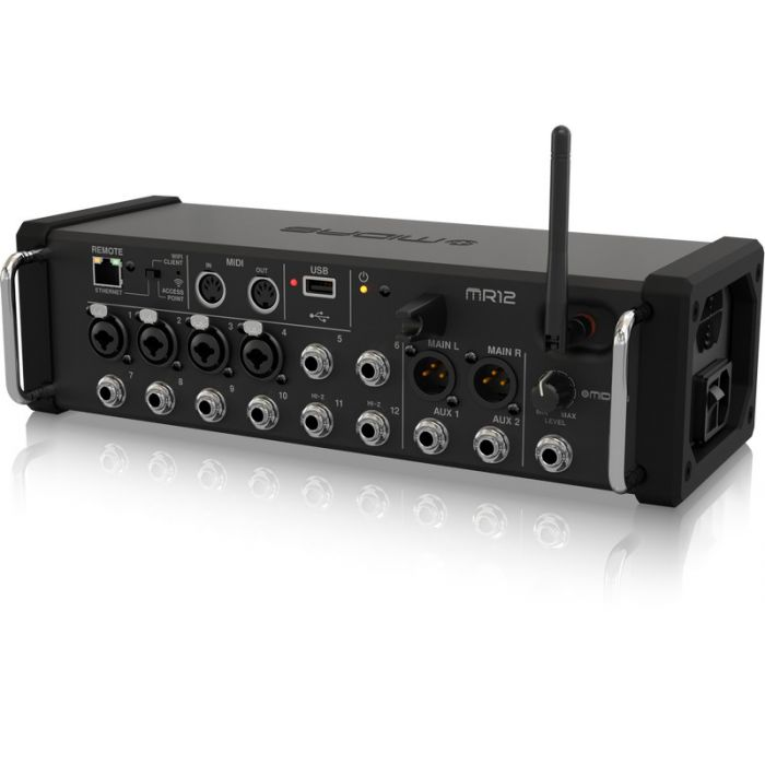 Midas MR12 12-Input Digital Mixer for iPad/Android