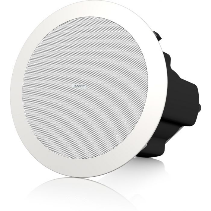 """Tannoy CVS4 4"""" Coaxial In-Ceiling Loudspeaker Wht"""