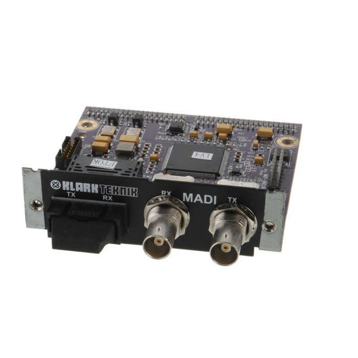 Klark KT-MADI Network Module up to 64 Bidirectional Channels