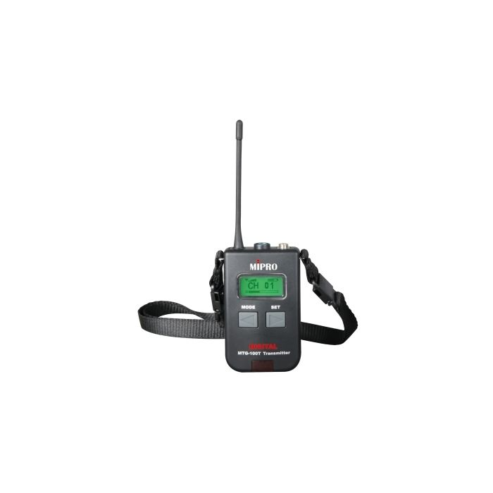 Mipro MTG-100T Digital Portable Mini Transmitter