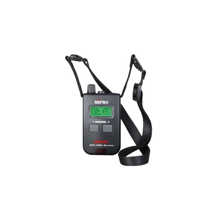 Mipro MTG-100Ra Digital Portable Mini Receiver (AA Batt.)