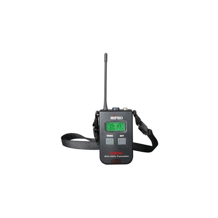 Mipro MTG-100Ta Digital Portable Mini Transmitter (AA Batt.)