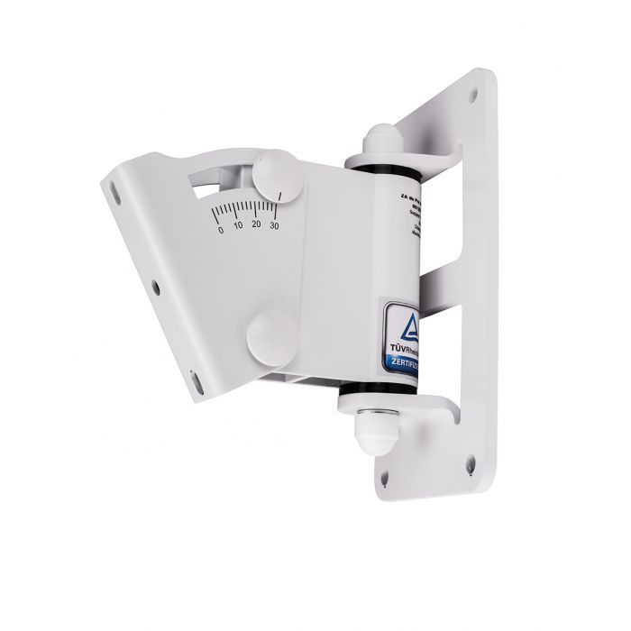 Nexo ID Series White Speaker Wall Mount. 0°-30°.