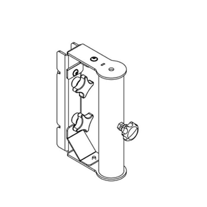 Nexo Pole-mount for ID84 Black