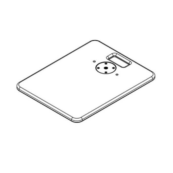Nexo Base plate for ID84/ID84L/IDS312 Black