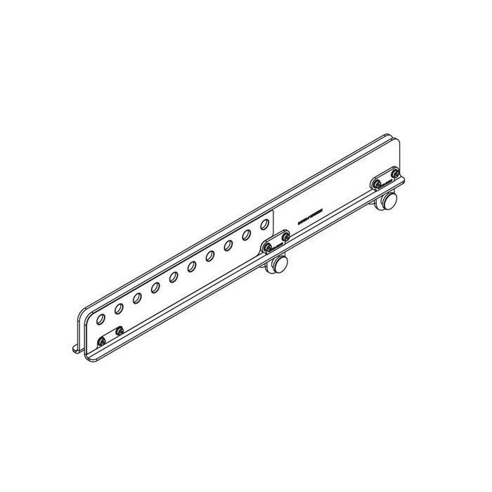 Nexo Extension bar for GEOM12 light bumper white