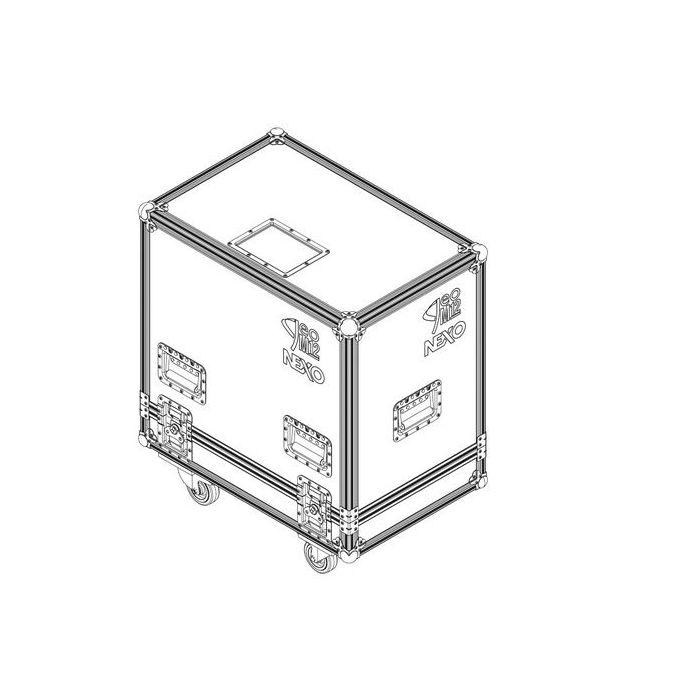 Nexo Flight case for 2 x GEOM12