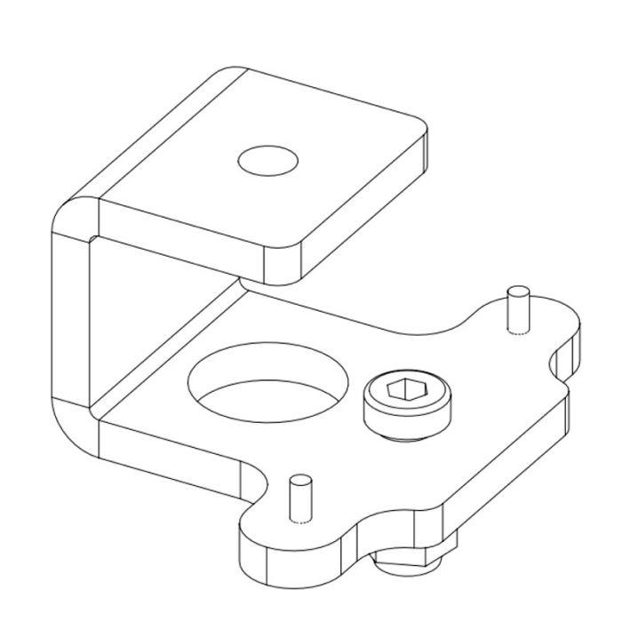 Nexo Celling adapter for P serie Black
