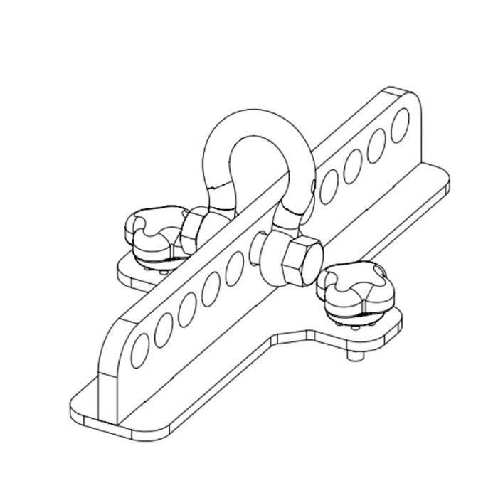 Nexo Lift bar for P serie White