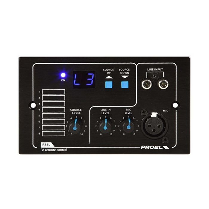 PROEL Remote Control Panel for Matrix88 w In Mixer
