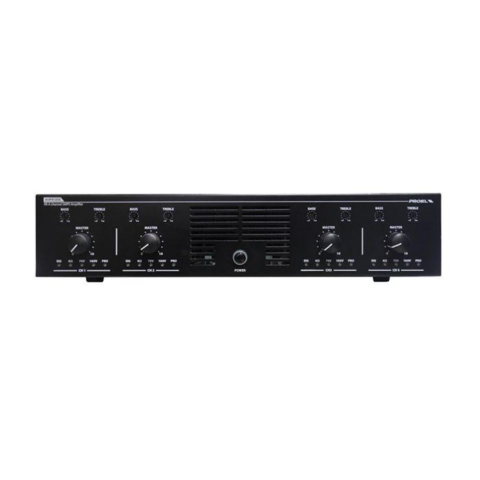 PROEL 4-Channel Power Unit 4 x 125W
