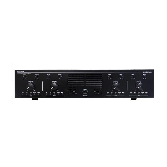 PROEL 4-Channel Power Unit 4 x 250W