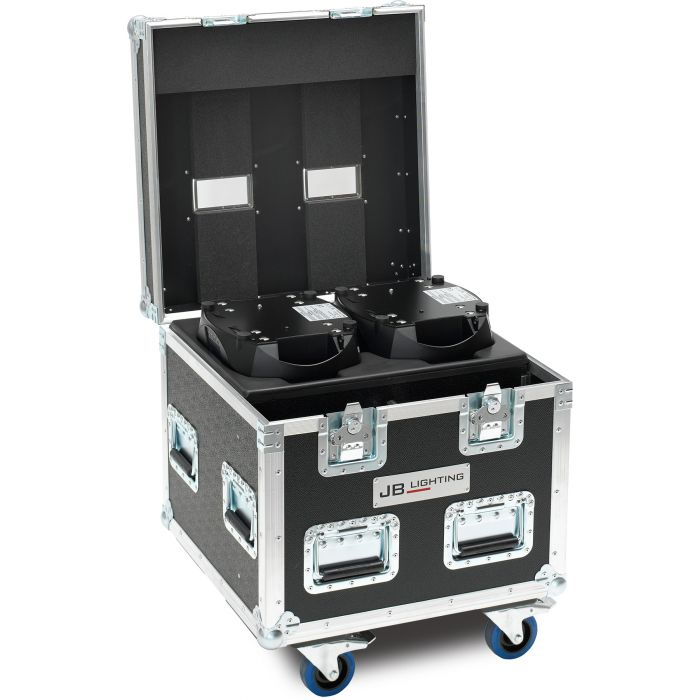 JB Flight case for 2x A8 Amptown SIP foam