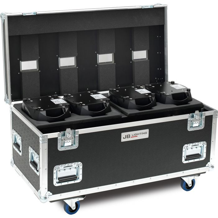 JB Flight case for 4x A8 Amptown SIP foam