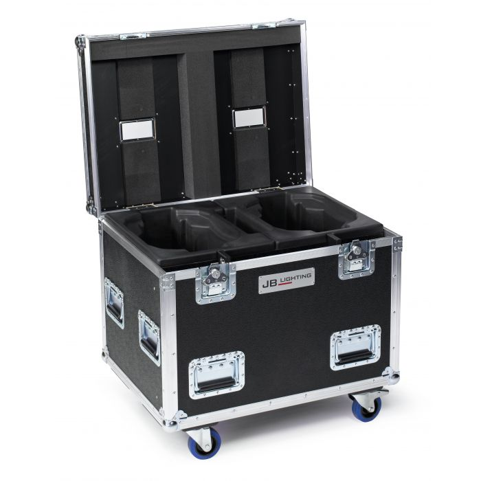 JB Flight case for 2x A12 Amptown SIP foam