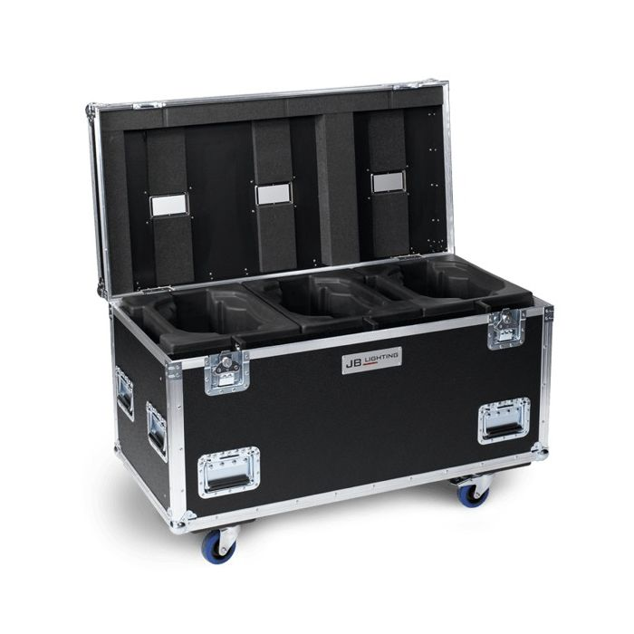JB Flight case for 3x A12 Amptown SIP foam
