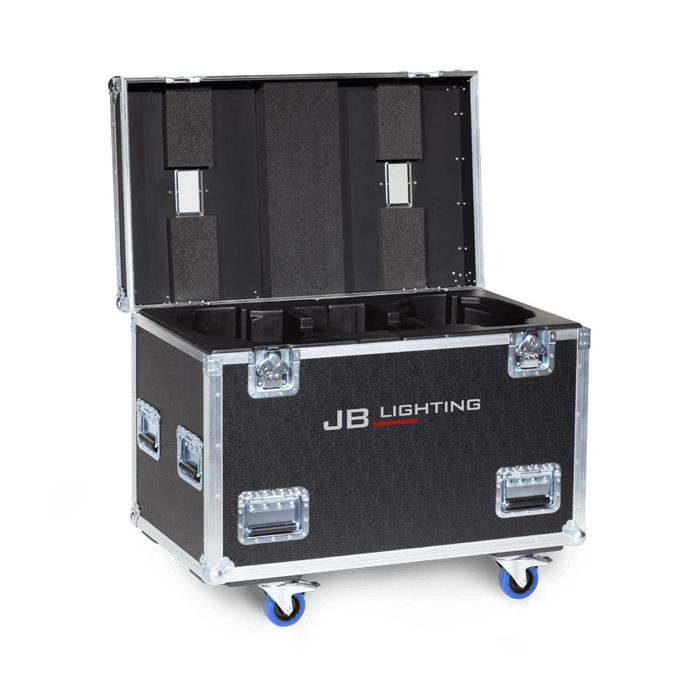 JB Flight case for 2x Sparx 18 Amptown SIP foam