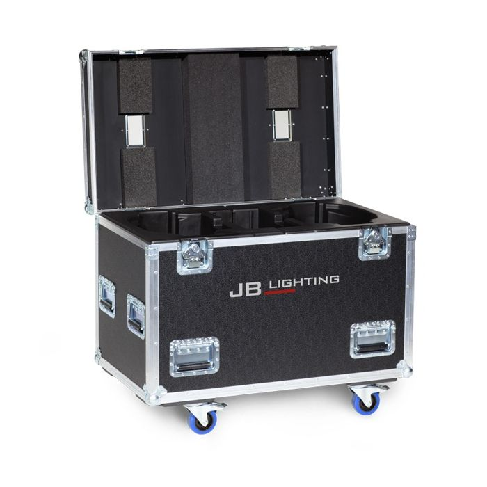JB Flight case for 2x Sparx 30 Amptown SIP foam