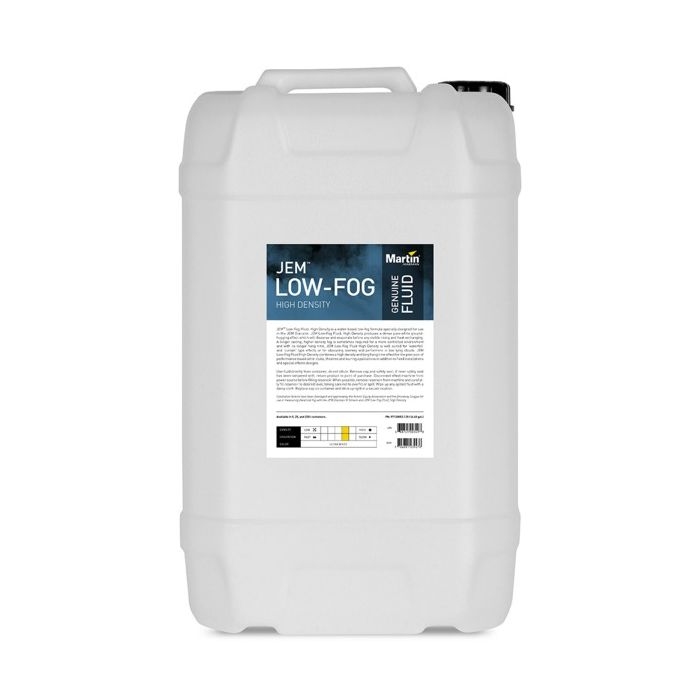 Martin JEM Low-Fog Fluid, High Density, 25 l