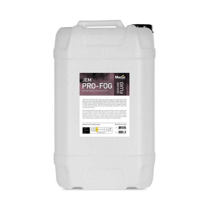 Martin JEM Pro-Fog Fluid, Extra Quick Dissipating, 25 l