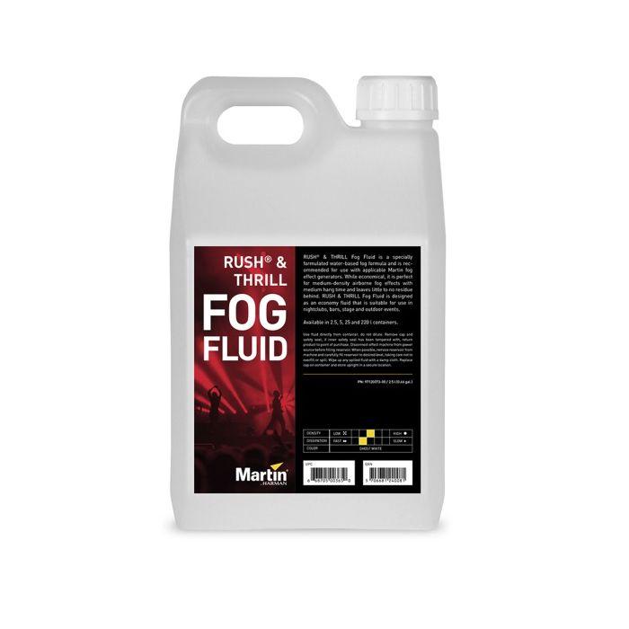 Martin RUSH Fog Fluid 4x 2.5L