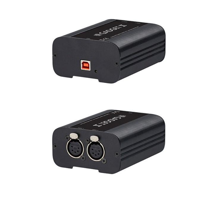 ETC Gadget II USB to 2 port DMX Gateway 2x Universe