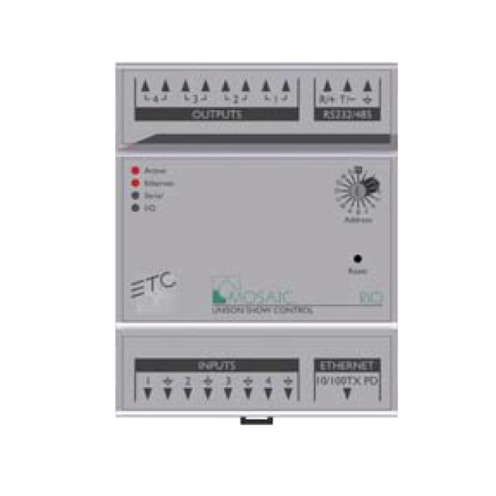 ETC Mosaic Remote I/O - 4 In / 4 Out