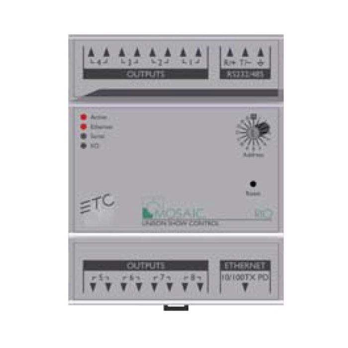 ETC Mosaic Remote I/O - 0 In / 8 Out