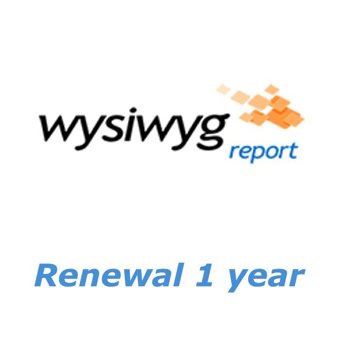 CAST WYSIWYG Report Renewal 1 year