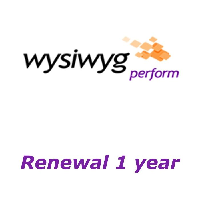 CAST WYSIWYG Perform Renewal 1 year
