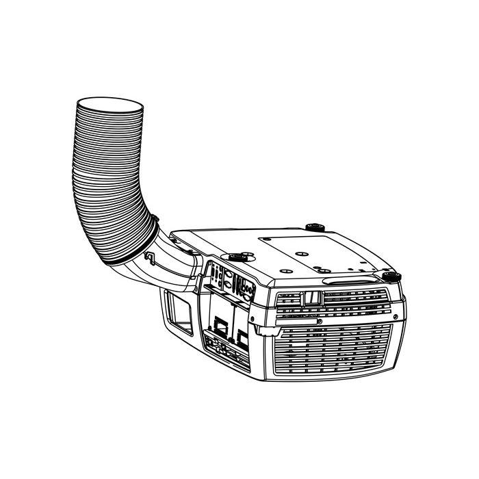 Barco F32/F35/CN/CR Environmental Exhaust Kit blac