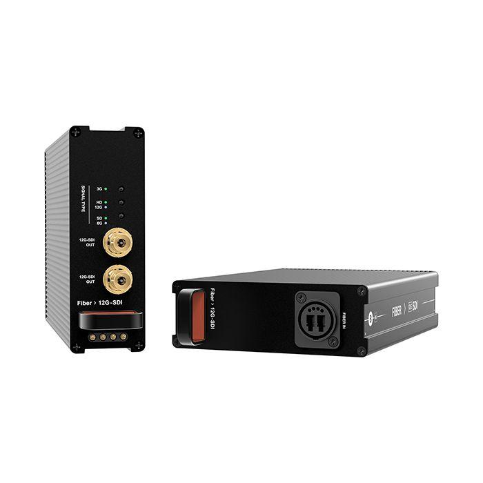 xVision Rev Mod Fiber OpticalCon Quad to 12G-SDI Conv SM
