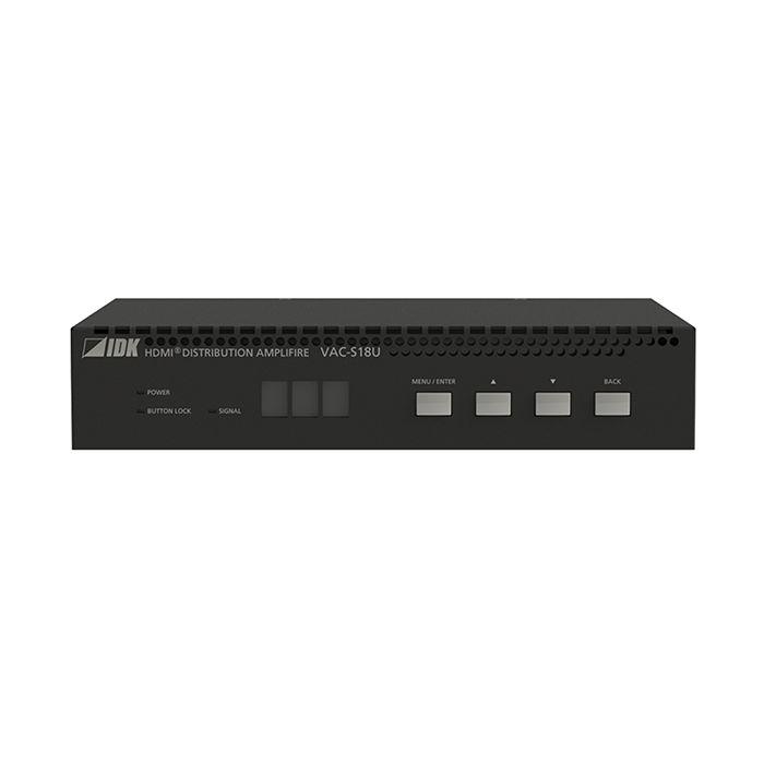 IDK 4K@60 HDMI Dist Amp, 1 Input & 8 Outputs VAC-S