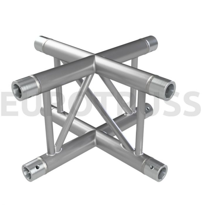 Eurotruss FD32 X-joint corner 4-way 50x50cm X/V