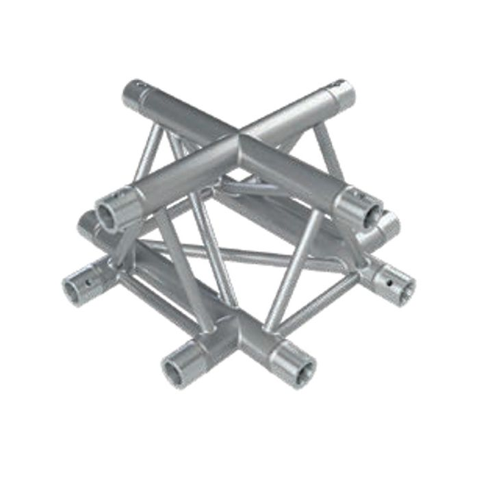 Eurotruss FD33 X-joint corner 4-way 50x50cm