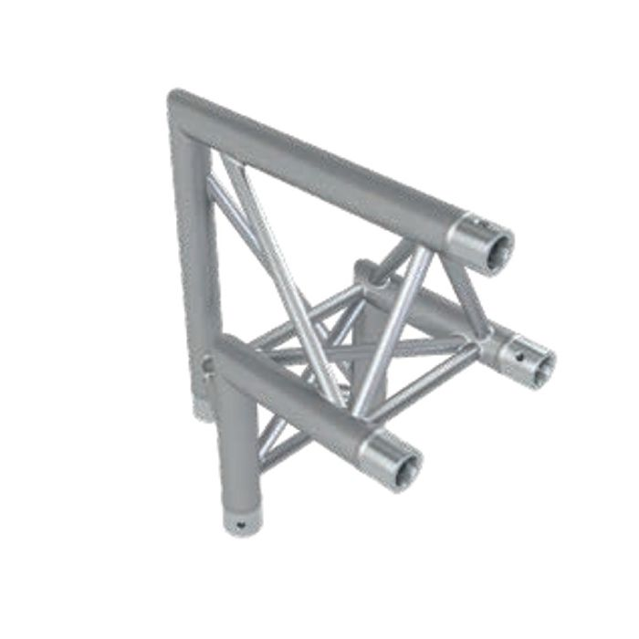 Eurotruss FD33 90 dgr down corner 2-way 50x50cm