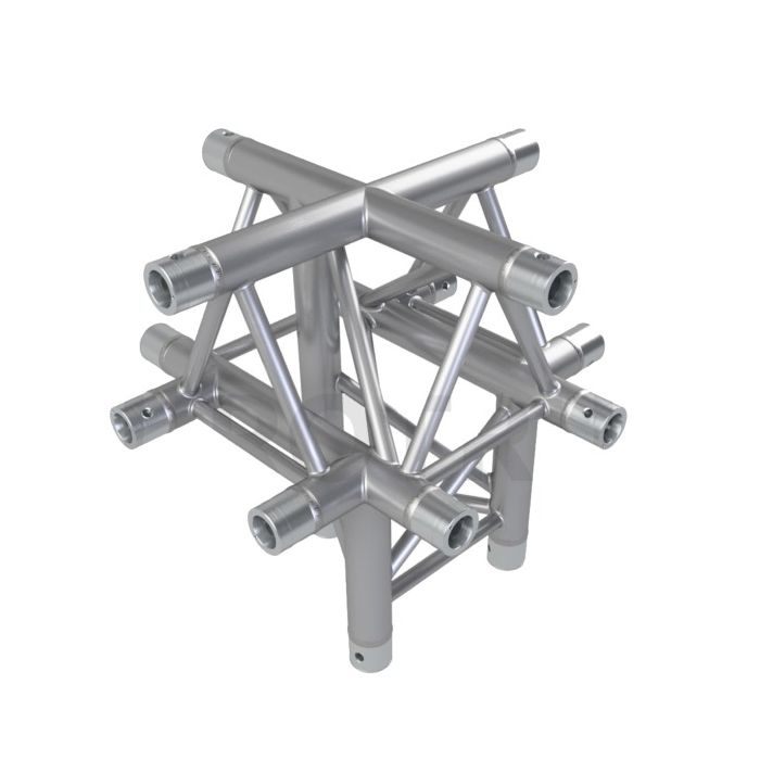 Eurotruss FD33 X-joint + down 5-way corner 50x50x50cm