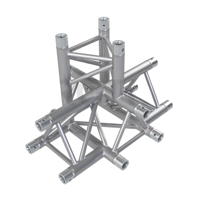 Eurotruss FD33 X-joint + up 5-way corner 50x50x50cm