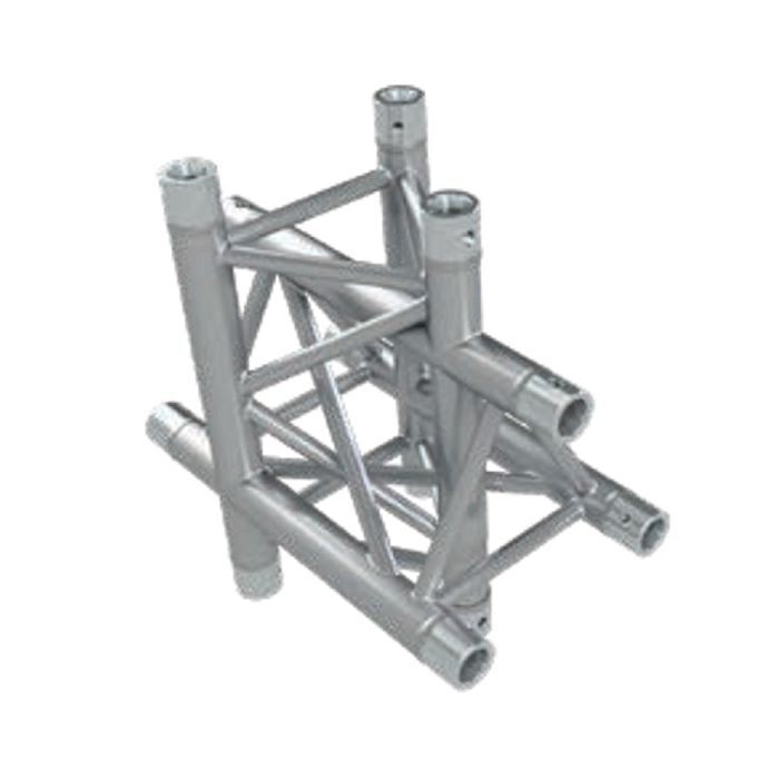 Eurotruss FD33-050 + up + down corner 4-way 50x50x50cm