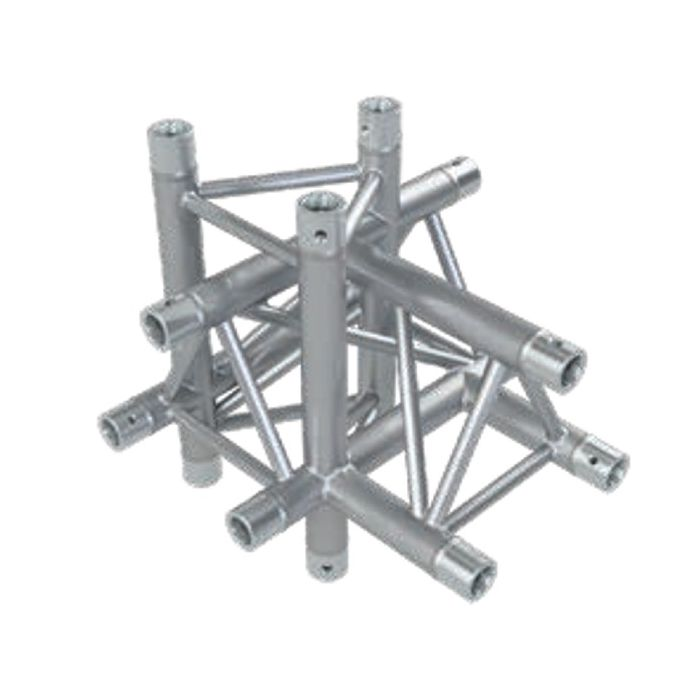 Eurotruss FD33 T-joint+up+down LEFT 5-way corner 50x50x50cm