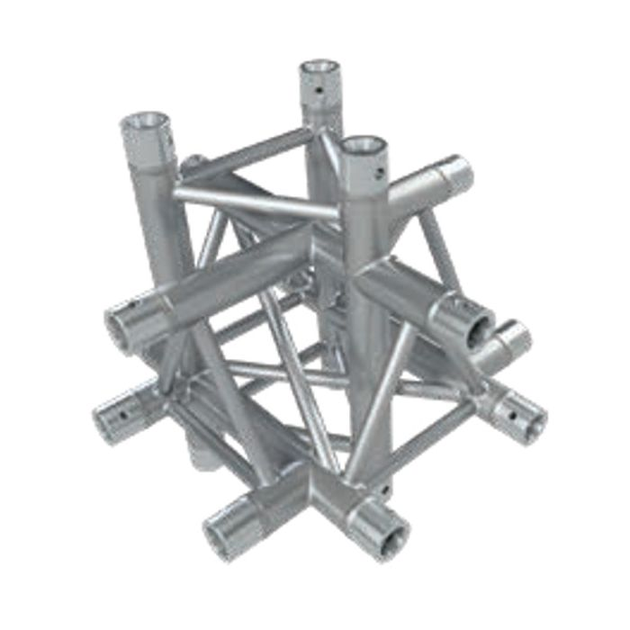 Eurotruss FD33 X-joint + up + down 6-way corner 50x50x50cm