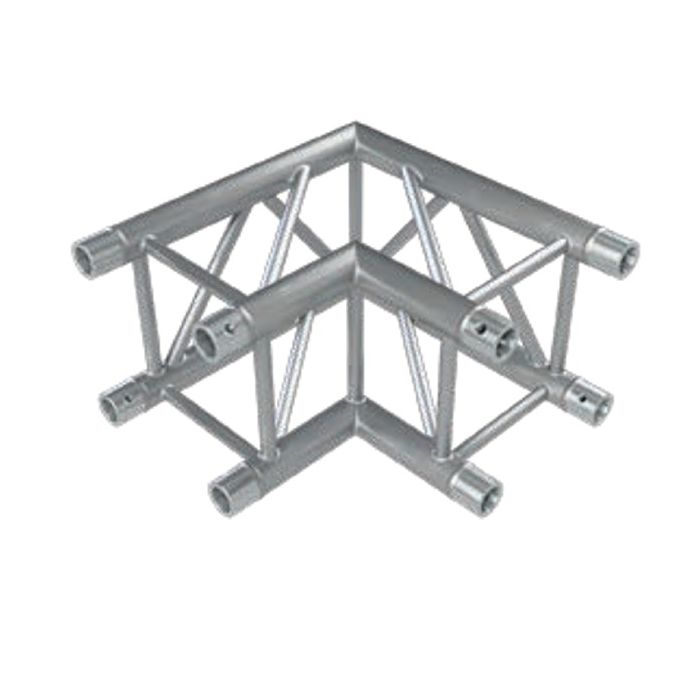 Eurotruss FD34 90 dgr corner 2-way 50x50cm