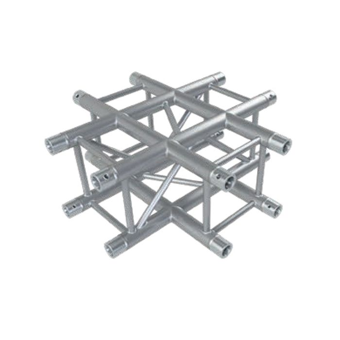Eurotruss FD34 X-joint corner 4-way 50x50cm
