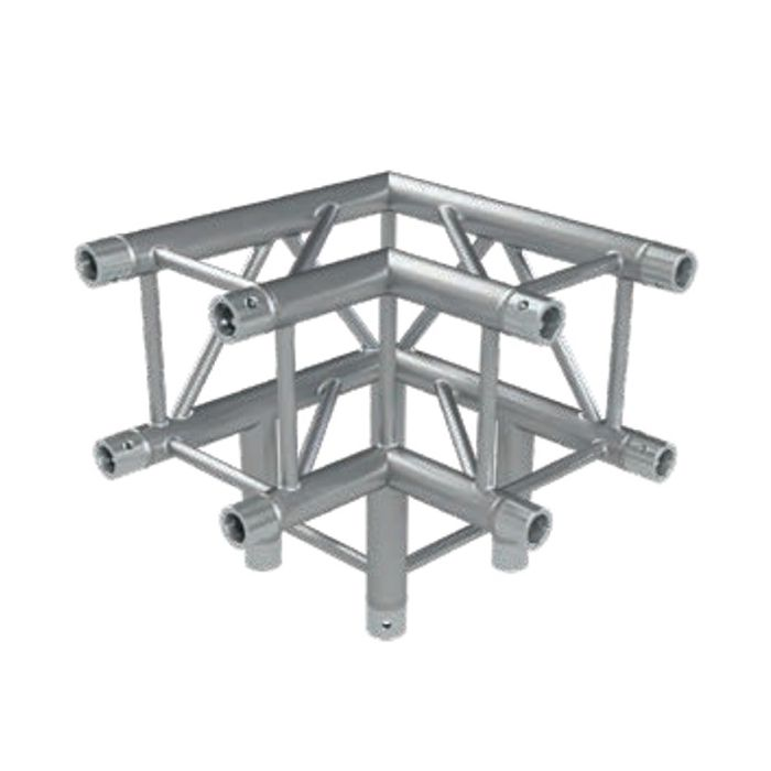 Eurotruss FD34 90 dgr + down 3-way corner 50x50x50cm