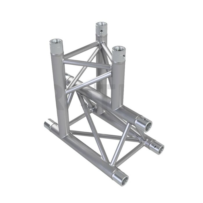 Eurotruss HD33 50cm with up corner 3-way 50x50cm