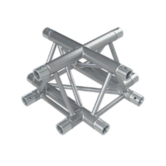 Eurotruss HD33   X-joint corner 4-way 50x50cm