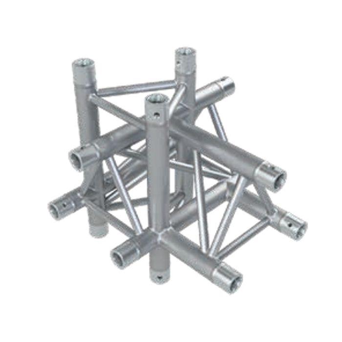 Eurotruss HD33 T-joint+up+down LEFT 5-way corner 50x50x50cm