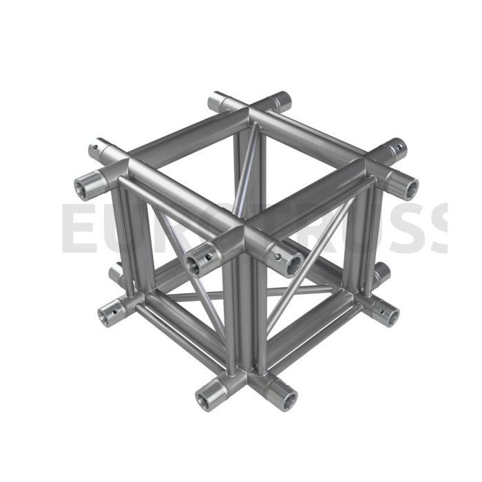 Eurotruss HD44 X-joint corner 4-way 60x60mm