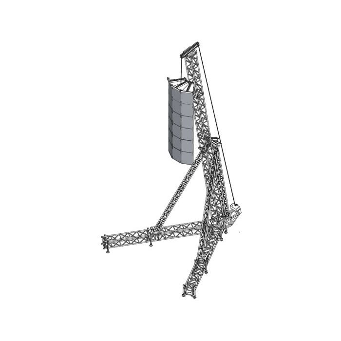 Eurotruss ST PA Tower 13m