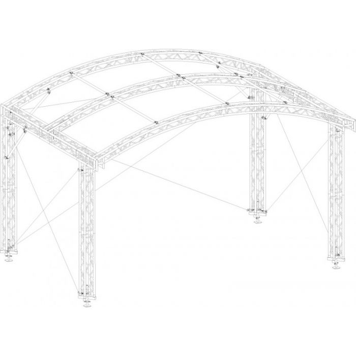 Eurotruss AR-10FD Roof system